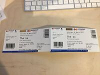 2 standing tickets for the xx Nottingham Sat 4th March