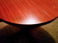 Mahagony table