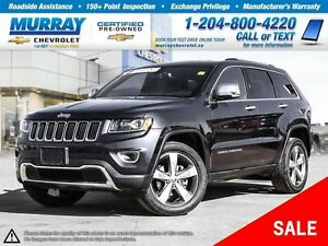 2016 Jeep Grand Cherokee Limited *Leather Seats, Heated Seats*