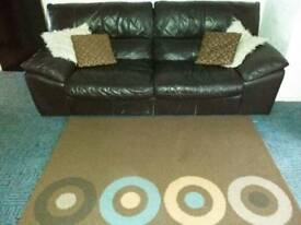 Free 4 seater leather settee