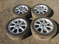 "Bmw 3 series 17"" alloy wheels - good tyres"