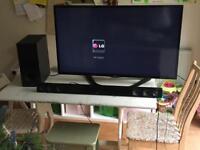 40 inch LG LCD HD Smart Tv with LG sound bar