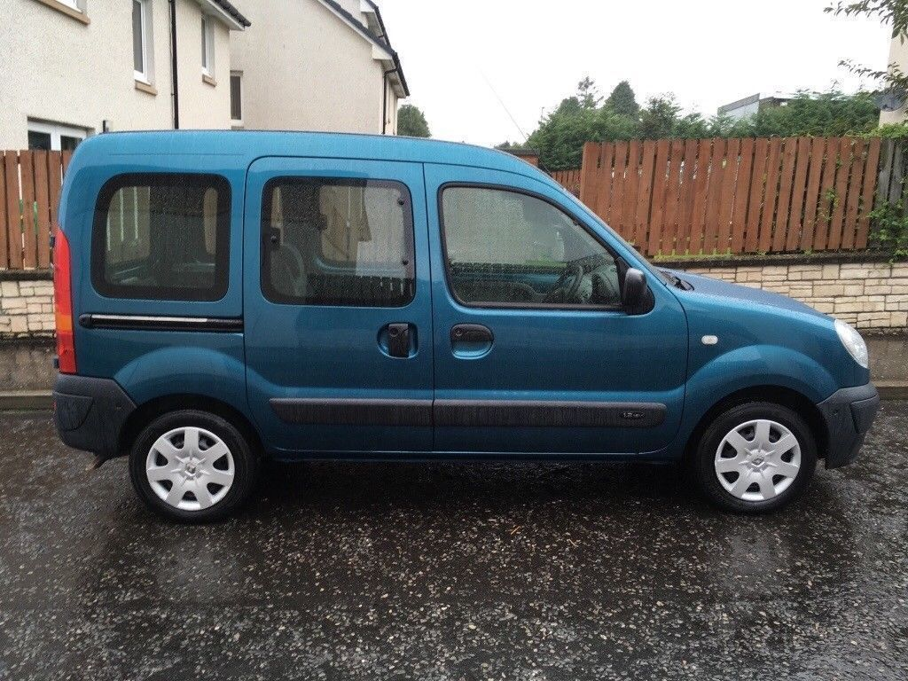 56 Wheelchair access Renault Kangoo 1.2, only 47k