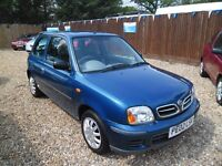 NISSAN MICRA 1.0L & LOW MILEAGE AND LONG MOT