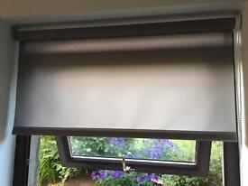 3 Brand New Ash Grey Roller Blinds FOR SALE!!