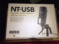 Rode NT USB Condenser Microphone (black)