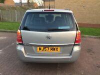 2007 Vauxhall Zafira 1.8 i 16v Club Easytronic 5dr Automatic 1Owner 6 Months warranty @07445775115@