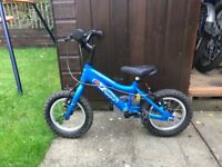 Ridgeback 12 inch bike in excellent condition for sale