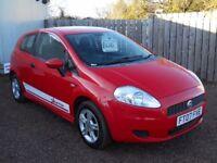 FIAT PUNTO 2007 1.2 LTR PETROL 88000 MILES 1 YEAR FRESH MOT WARRANTED CLEAN CAR!!!