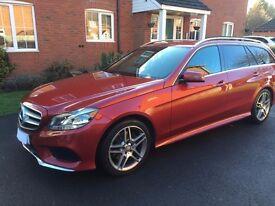 Mercedes AMG E220 Estate premium colour. 27K mileage. Full merc service history