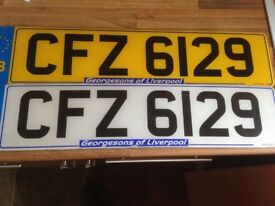 Private number plate.CFZ 6129 for sale!!!