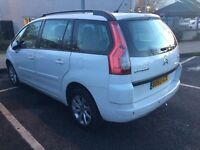 2010 citron c4 grand picasso 7 seater PCO registered uber ready