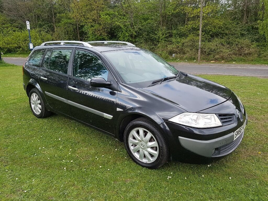 2007 renault megane estate 1 5 dci dynamique mot sept 2017. Black Bedroom Furniture Sets. Home Design Ideas