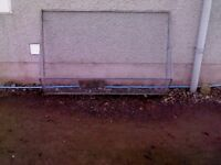 galvanised mesh window guards excellent 7 x 4ft approx each