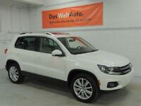 2012 Volkswagen Tiguan Highline 0.9% Financing , 112 Point Inspe