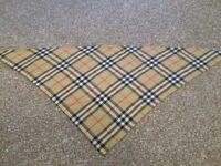 Burberry Original neck scarf/headband