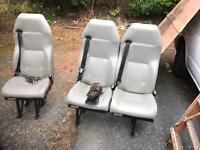 Rear van seats. Will fit transit / Mercedes and others.