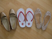 Bundle of ladies shoes, UK size 6, great condition