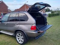 "2006 06 BMW X5 3.0d SPORT GREAT CONDITION FSH SAT NAV TV 20"" LE MANS WHEELS (PX P/X PART EXCHANGE)"