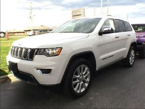 2017 Jeep Grand Cherokee Limited*DEMO*0% Fin for 6yrs*