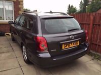 2007 Toyota Avensis 5dr Estate 1.8 T3-X - Certified LPG Converted - Dual Fuel!