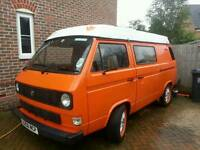 Vw T25 camper. Huge spec.
