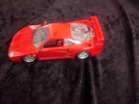 Burago Ferrari model car