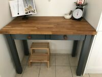Kitchen Island and Side Table
