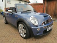 Mini Cooper S Convertible, SAT NAV, LEATHER, 2 owners from new