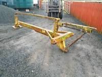 Tractor kilworth post stob chapper knocker