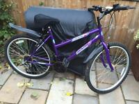 """Ladies 18"""" flame bike bicycle. FREE lights & FREE delivery. D lock available"""