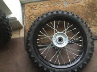 Ktm 50 small wheels
