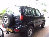 FORD MAVERICK 4X4 DIESEL TO GEATHER WITH CAR RECOVERY DOLLY OR WILL SEPERATE PX