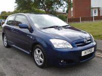 Toyota Corolla 1.4 VVT-i T3 3dr£1,299 p/x welcome ONE OWNER. FULL 12 MONTHS MOT