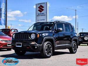2017 Jeep Renegade Trailhawk 4x4 ~Nav ~Backup Cam ~Heated Seats/