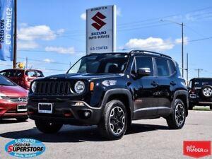 2017 Jeep Renegade Trailhawk 4x4 ~Nav ~Backup Cam ~Heated Seats/
