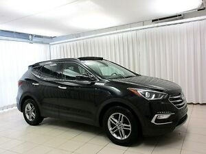 2017 Hyundai Santa Fe SPORT AWD SUV w/ Backup Camera, Heated Sea
