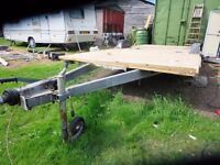 Caravan chassis trailer Project