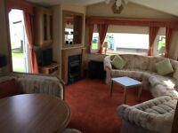 8 Berth Caravan for hire. RED LION CARAVAN PARK