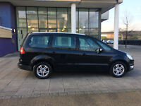 2012 ford galaxy 1.6 tdci eco diesel manual, 7 seater , met black, 75k, 1 owner, hpi clear 100%