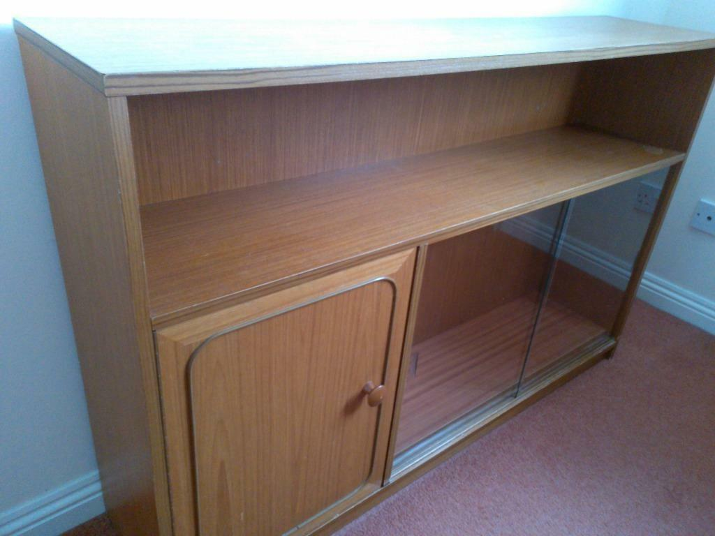 Cupboard with glass sliding doors in liberton edinburgh for Sliding glass doors gumtree