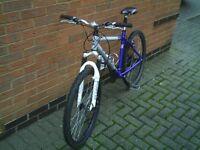 Kona mountain bike 21gears ,Hyd Front Disc brake & Suspension forks, Light Weight Aluminium frame