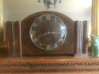 Original 1930s Kenzel Mantel Clock