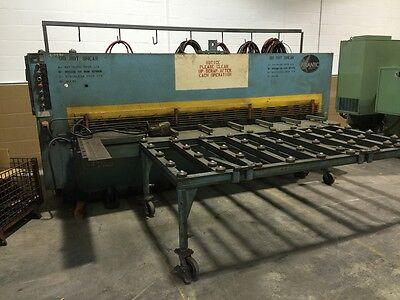 Atlantic 10 X 14 Hydraulic Power Squaring Shear