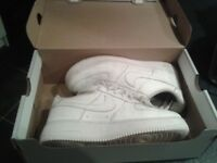 Original Nike AF1 Air Max Trainers, UK Adult Size 5.5 (original with their box)