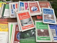 model train manuals large box full from 1930s onwards bargain