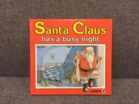 Santa Claus has a busy night rare Ladybird vintage retro Children's book HB illustrated SDHC
