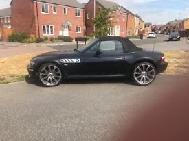 BMW Z3 2.8 metallic black 1998 automatic