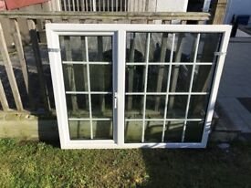 White PVC Georgian Style Windows