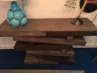 "**Designer** by Andrew Martin the ""Rocky"" Console Table rrp £1799"